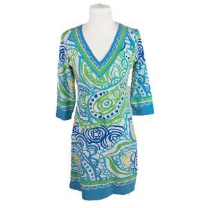 Barbara Gerwit Dress S Small Paisley Boho Tunic
